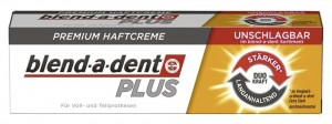 Blend-a-dent PLUS Super MOCNY klej do protez SuperHaftcreme DUO Kraft