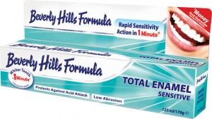 BEVERLY HILLS Natural White TOTAL ENAMEL SENSITIVE 125 ml/170 g