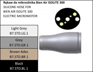 Rękaw do mikrosilnika Bien Air ISOLITE 300