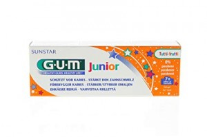 GUM Junior pasta do zębów TUTTI-FRUTTI 50ml