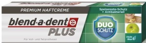 Blend-a-dent klej do protez PLUS dual protection (zielony) 40g